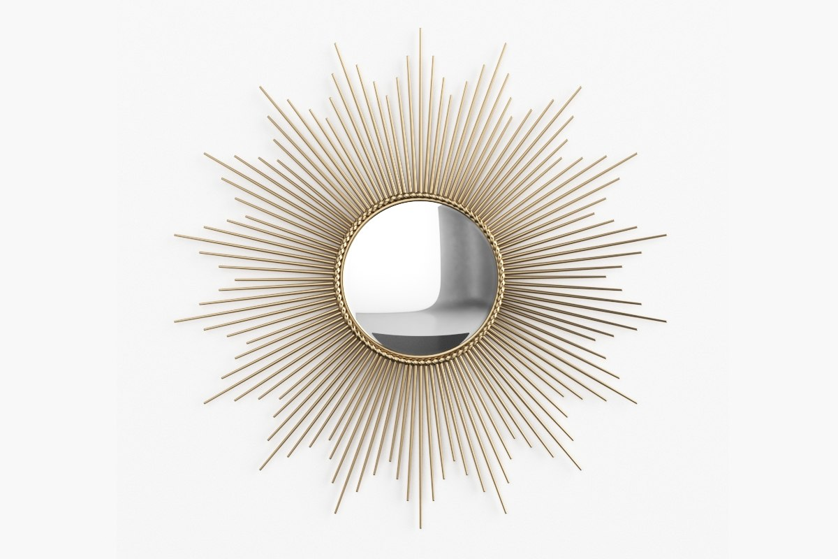 3d global views sunburst mirror