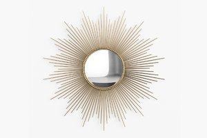 3d global views sunburst mirror