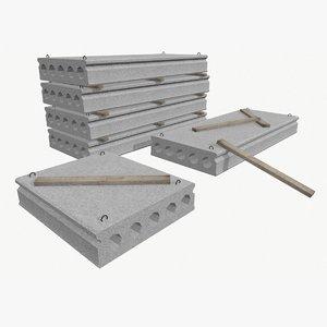 concrete slab max