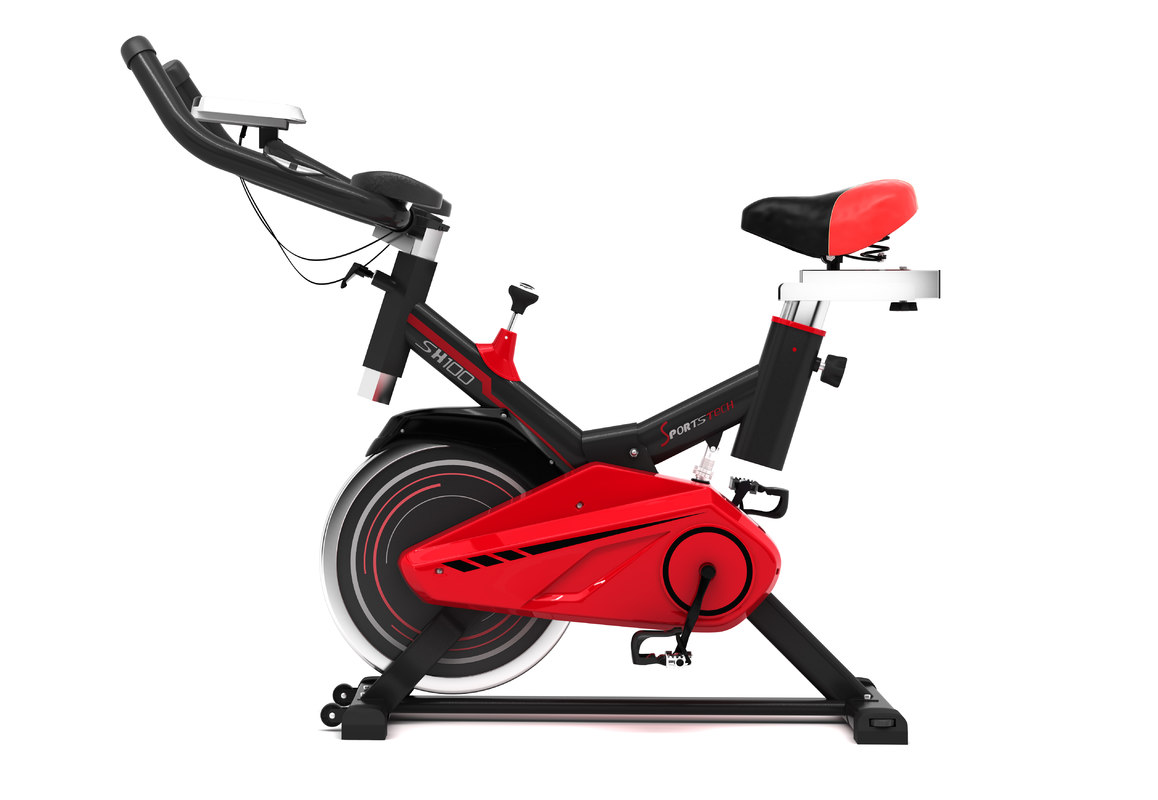 exercise bike 3d max