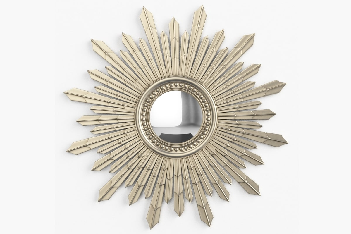 laura ashley mirror 3d model