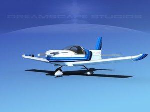 propeller zlin 242 3d max