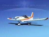 3d model propeller zlin 242