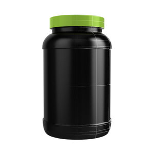 protein bottle 3d obj