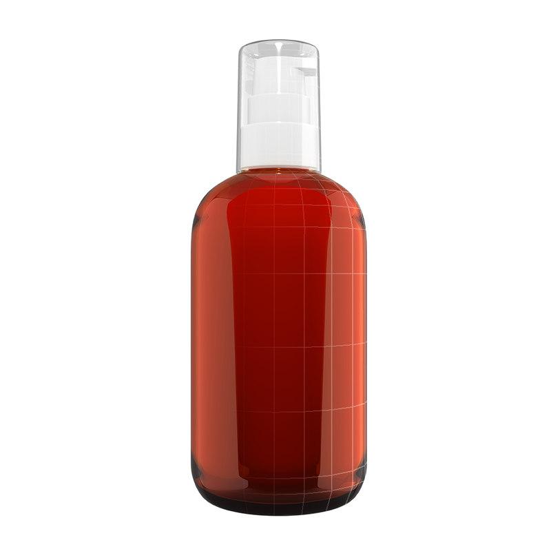 bottle pump 3d model