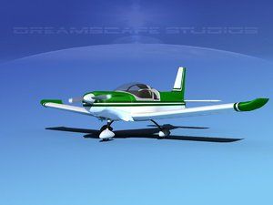 propeller zlin 242 3d model