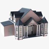 house crib 3d model