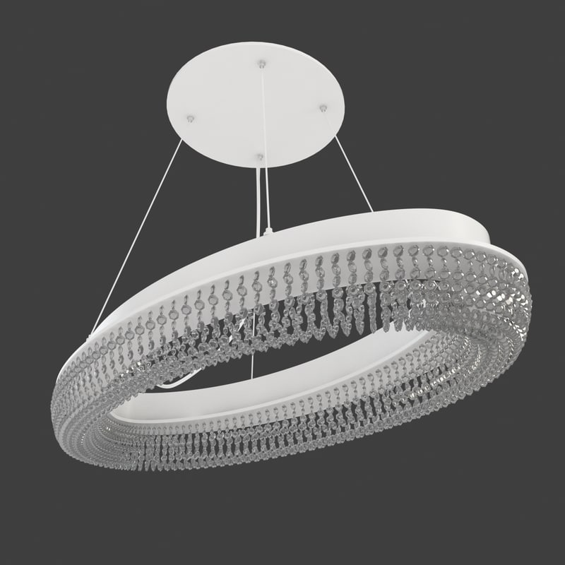 pendant light 3 3d model