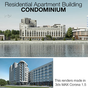 residential apartment condominium obj