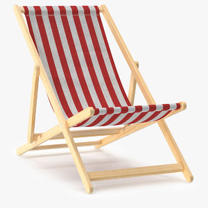 beach chair obj