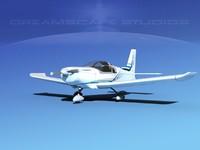 3d model of propeller zlin 242