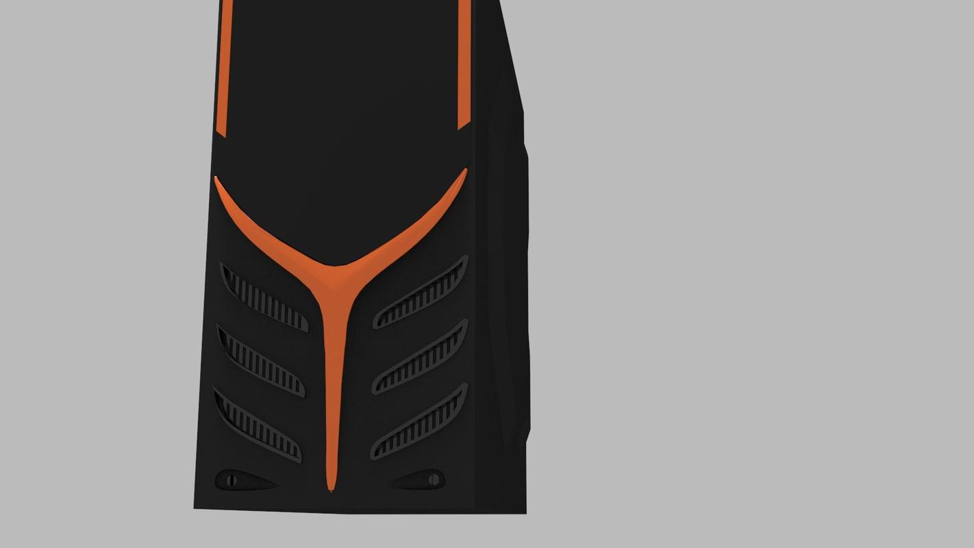 3d model raidmax super viper