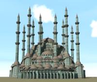 Fantasy Ottoman Mosque