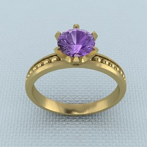 3ds print ring