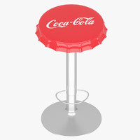 Stool Soda Bottle Cap