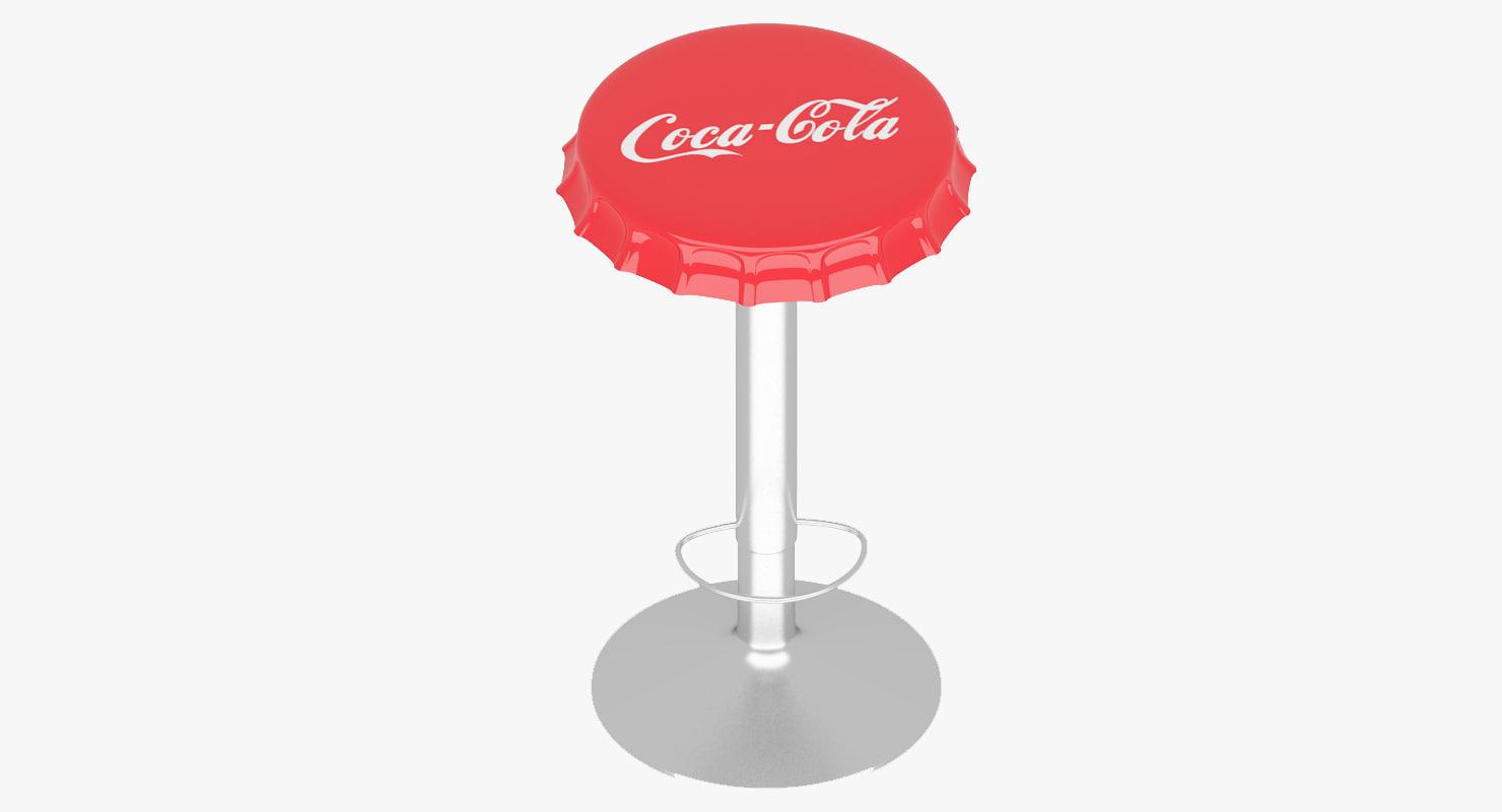 stool soda bottle cap max