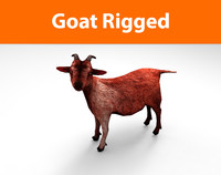 goat rigged 3d 3ds