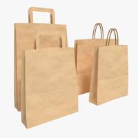 max paper bag set