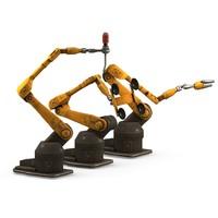 robot industrial 3d model