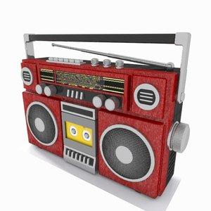 radio toon cartoon 3d max