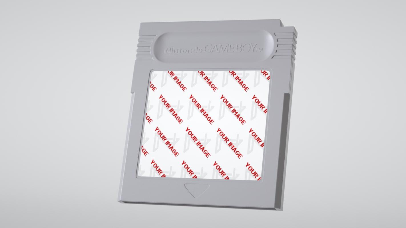 c4d gameboy cartridge