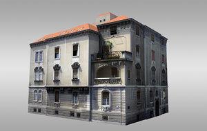 3d baroque villa