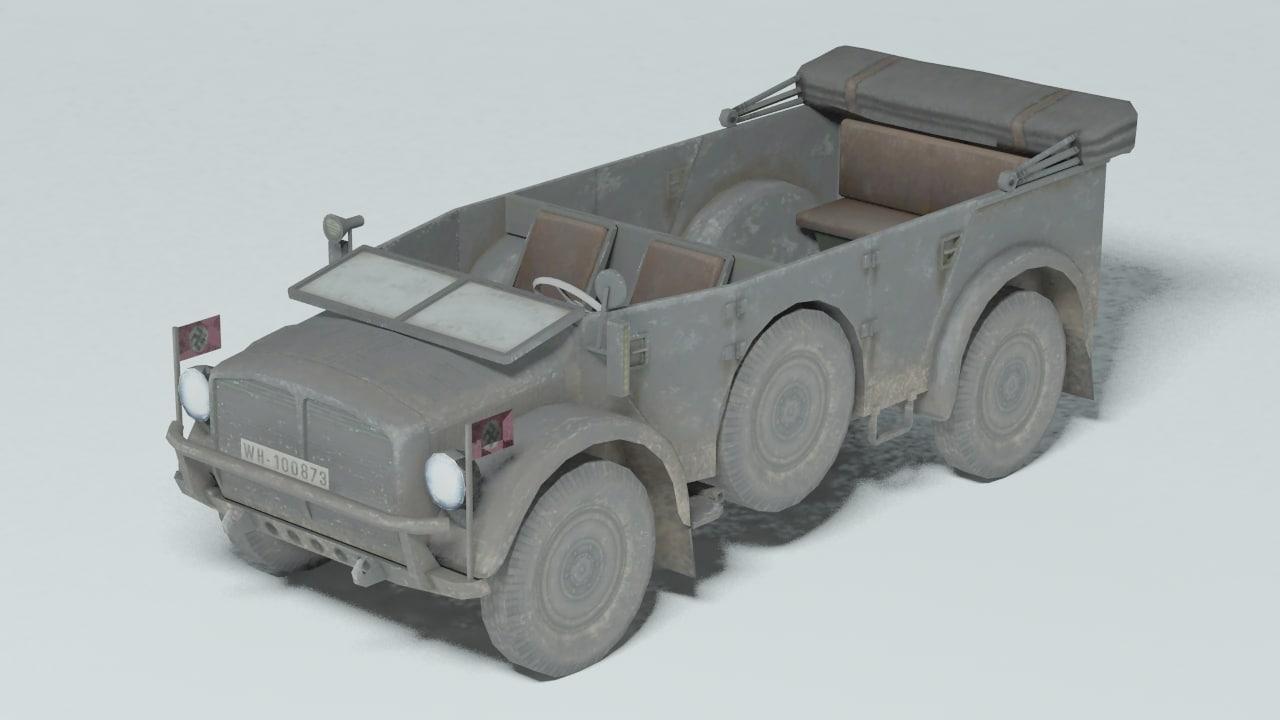 3d horch 108 1a model