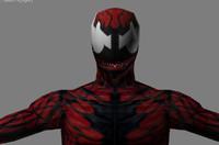 carnage marvel spider-man fbx