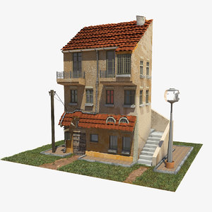 3d model house old