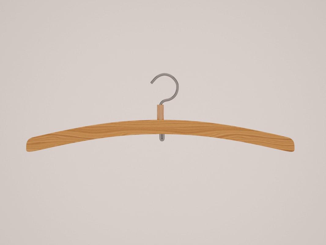 3d hanger clothes model