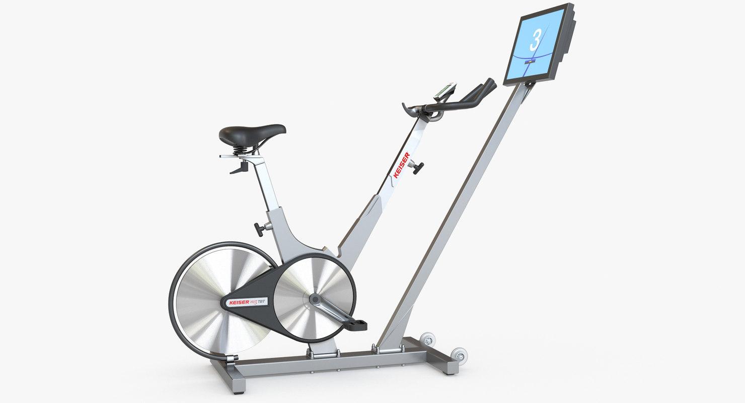 keiser m3 indoor cycle 3d max