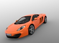 Mclaren MP4 Highly Detailed