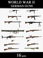 World War II German Guns