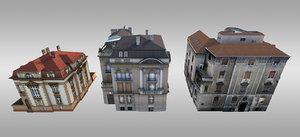 pack city villas 3ds