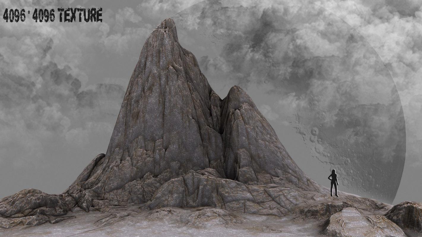 rock 10 3d model