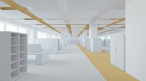 office space 2 3d obj