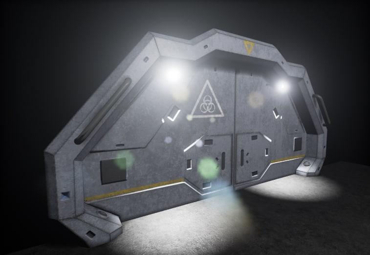 sci-fi door max