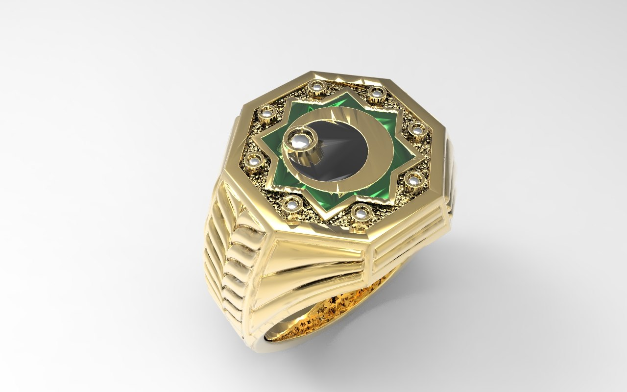 jewel ring 3d model