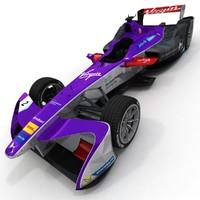 season 3 virgin formula 3d model