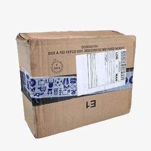 3d model parcel