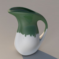 pitcher water 3d x