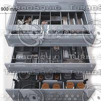 tandembox 3d model