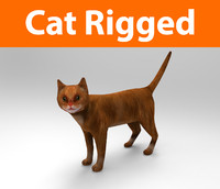 cat rigged 3d max