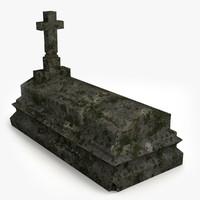 3d gravestone ready unity