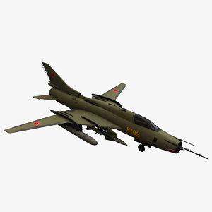 3d sukhoi su fighter model