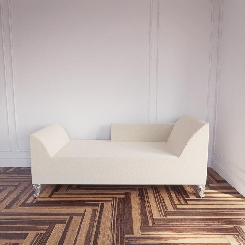 angela sofa creazioni 3d obj