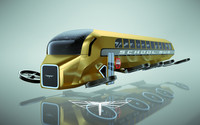 3d school bus copter