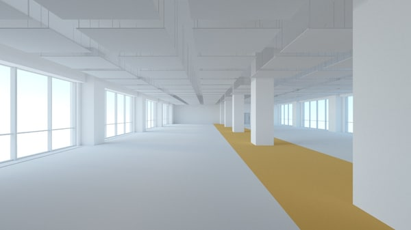 office space 3d model