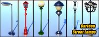 6 lamp 3d model