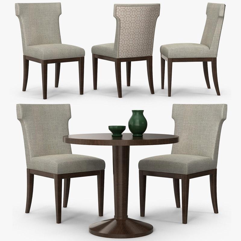 sofa chair company - 3d max